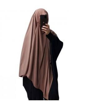 Hijab a enfiler soie de...