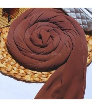hijab a enfiler soie de medine