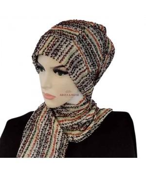 Hijab turban multicolore