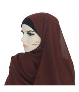 Hijab mousseline de soie