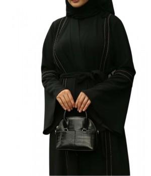 abaya dubaï noire