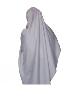hijab satiné rose pale
