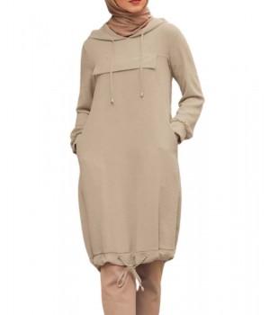 tunique longue hijab