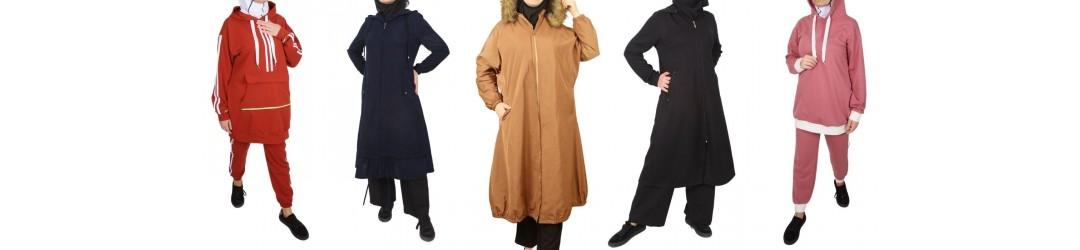 Urban& sportwear - Tenue sport hijab - Survêtement pour femme voilée