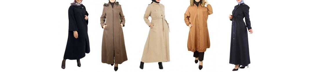 Manteau long turque - Manteau long & Câpes pour femme voilée