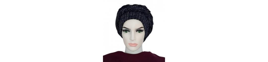 Bonnets sous hijab - Bonnet croisé - Turban pas cher
