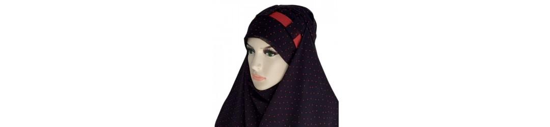 Hijab mousseline qualité premium - Divers coloris à petits prix
